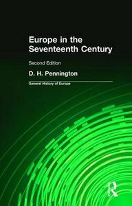 Europe in the Seventeenth Century - Donald Pennington - cover