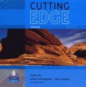 Cutting Edge Starter Class CD 1-2 - Sarah Cunningham,Peter Moor - cover