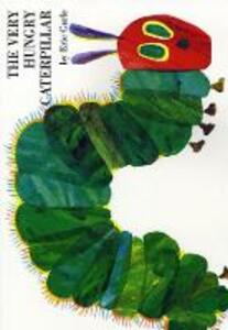 The Very Hungry Caterpillar - Eric Carle - cover