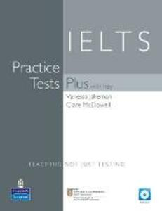 Practice Tests Plus IELTS With Key & CD Pack - Vanessa Jakeman,Clare McDowall - cover