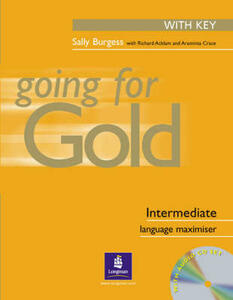 Going for gold. Intermediate. Maximiser. With key. Con CD Audio.