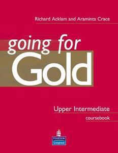 Gold Upper-intermediate - Richard Acklam,Araminta Crace - cover