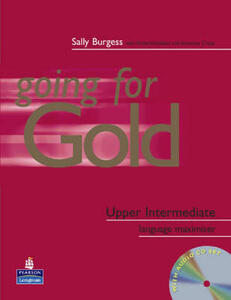 Going for Gold Upper-Intermediate Language Maximiser No Key & CD Pack - Sally Burgess - cover
