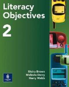 Literacy Objectives Pupils' Book 2 - Melinda Derry,Harry Webb - cover