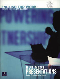 English For Work:Business Presentations Book/CD Pack Book and CD - Anne Freitag-Lawrence - cover