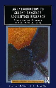 An Introduction to Second Language Acquisition Research - Diane Larsen-Freeman,Michael H. Long - cover