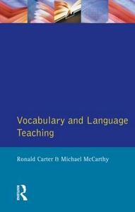Vocabulary and Language Teaching - Ronald Carter,Michael J. McCarthy - cover