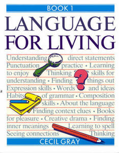 Language for Living Book 1 - Cecil Gray - cover