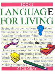 Language for Living Book 2 - Cecil Gray,Joan Barker - cover