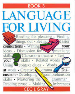 Language for Living Book 3 - Cecil Gray,Joan Barker - cover