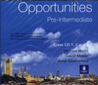 Opportunities Pre-intermediate - cover