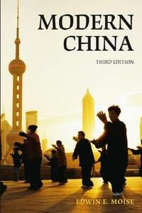 Modern China - Edwin E. Moise - cover