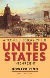 A People's History of the United States: 1492-Present - Howard Zinn - cover