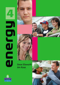 Energy 4 Student's Book plus Notebook - Steve Elsworth,Jim Rose - cover