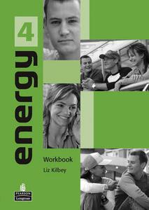 Energy 4 Workbook - Liz Kilbey - cover