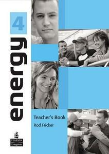 Energy 4 Teacher's Book with Posters - Rod Fricker - cover