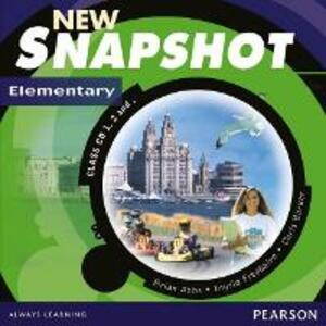 Snapshot Elementary Class CD 1-3 New Edition - Brian Abbs,Chris Barker,Ingrid Freebairn - cover