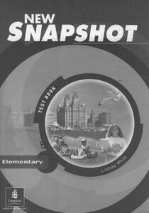 Snapshot Elementary Tests New Edition - Lindsay White - cover