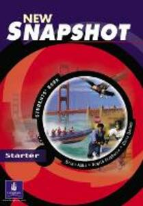Snapshot Starter Student's Book New Edition - Brian Abbs,Chris Barker,Ingrid Freebairn - cover