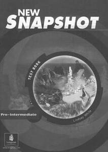 Snapshot Pre-Intermediate Tests New Edition - Lindsay White - cover