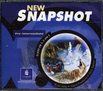 Snapshot Pre-Intermediate Class CD 1-3 Audio New Edition - Brian Abbs,Chris Barker,Ingrid Freebairn - cover