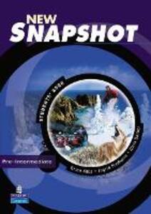 Snapshot Pre-Intermediate Students' Book New Edition - Brian Abbs,Chris Barker,Ingrid Freebairn - cover