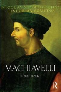 Machiavelli - Robert Black - cover