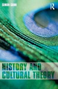 History and Cultural Theory - Simon Gunn - cover