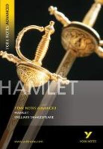 Hamlet: York Notes Advanced - William Shakespeare,Jeffrey Wood,Lynn Wood - cover