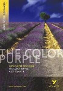 The Color Purple: York Notes Advanced - Neil McEwan - cover