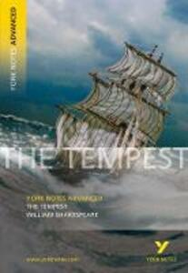 The Tempest: York Notes Advanced - Loreto Todd - cover