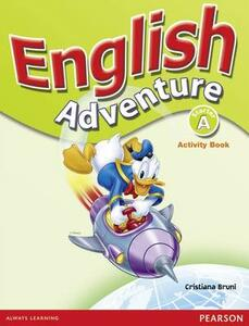 English Adventure Starter A Activity Book - Cristiana Bruni - cover