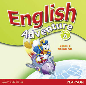 English Adventure Starter A Songs CD - Cristiana Bruni - cover