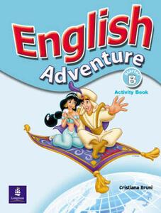 English Adventure Starter B Activity Book - Cristiana Bruni - cover