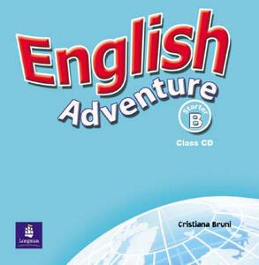 English Adventure Starter B Class CD - Cristiana Bruni - cover