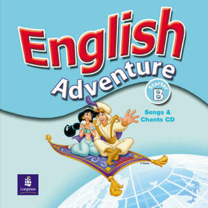 English Adventure Starter B Songs CD - Cristiana Bruni - cover
