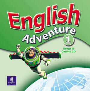 English Adventure Level 1 Songs Cass - Anne Worrall - cover