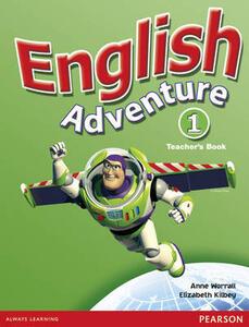 English Adventure Level 1 Teacher's Book - Anne Worrall - cover