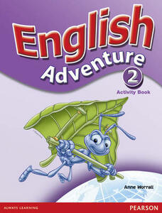 English Adventure Level 2 Activity Book - Anne Worrall - cover