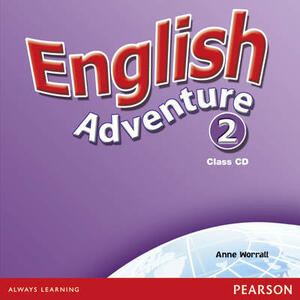 English Adventure Level 2 Class CD - Anne Worrall - cover