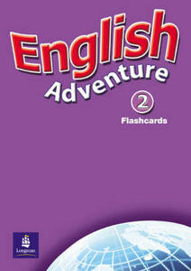 English Adventure Level 2 Flashcards - Anne Worrall - cover