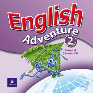 English Adventure Level 2 Songs CD - Anne Worrall - cover