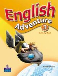 English Adventure Level 3 Activity Book - Izabella Hearn - cover