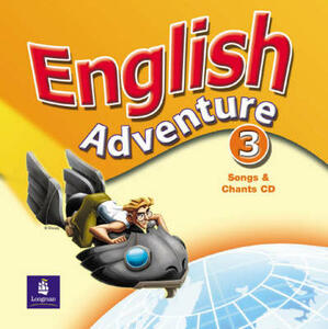 English Adventure Level 3 Songs Cass - Izabella Hearn - cover