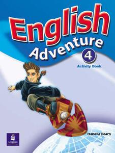 English Adventure Level 4 Activity Book - Izabella Hearn - cover