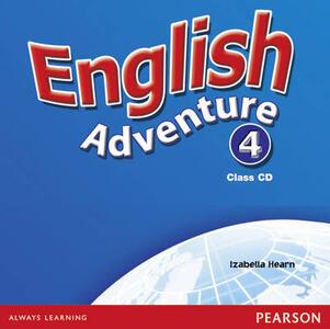 English Adventure Level 4 Class CD - Izabella Hearn - cover