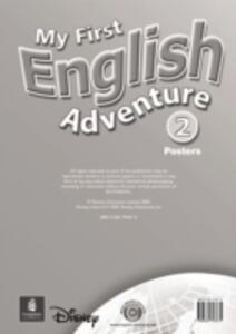 My First English Adventure Level 2 Posters - Mady Musiol,Magaly Villarroel - cover