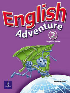 English Adventure Level 2 Pupils Book plus Picture Cards - Anne Worrall - cover