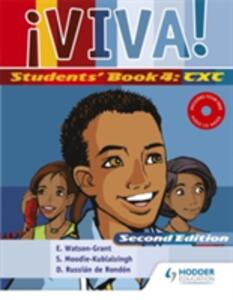 Viva Students' Book 4 with Audio CD - Sylvia Moodie,Elaine Watson-Grant,Derunnay Russian de Rondon - cover