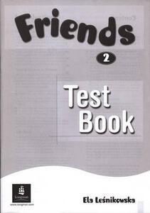 Friends 2 (Global) Test Book - Ela Lesnikowska - cover